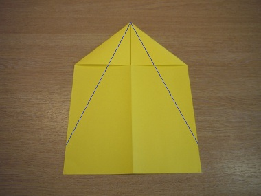 How to make a paper aeroplane: The Dart 4