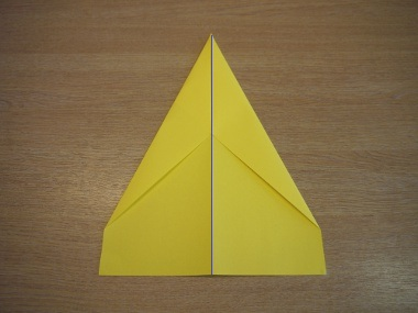 How to make a paper aeroplane: The Dart 5