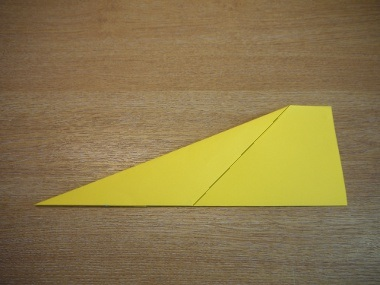 How to make a paper aeroplane: The Dart 5a