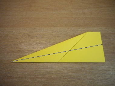 How to make a paper aeroplane: The Dart 6