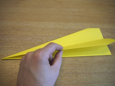 How to make a paper aeroplane: The Dart 4a