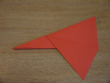 Paper Aeroplanes: The Piranha - Step 8a