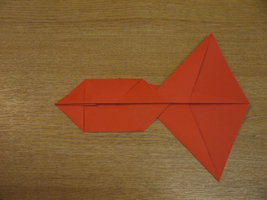 Paper Aeroplanes: The Spyder - Step 10a