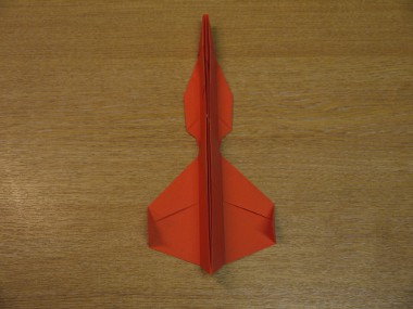 Paper Aeroplanes: The Spyder - Step 17a