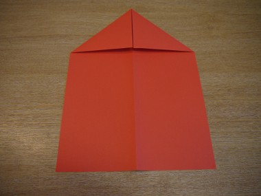 Paper Aeroplanes: The Spyder - Step 3a
